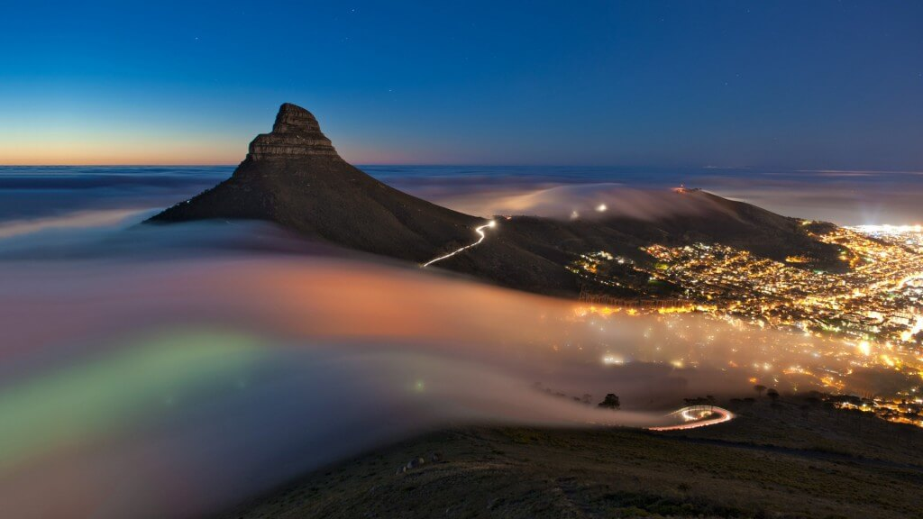 cape town night time