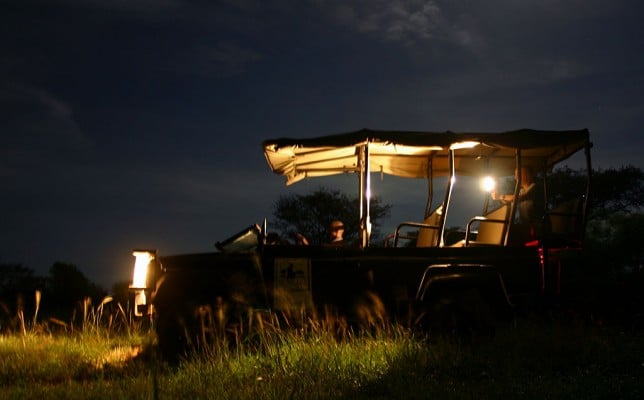 safari night drive isimangaliso