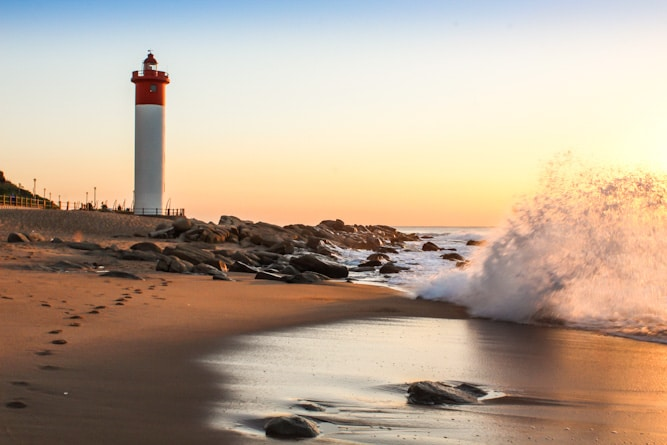 Iconic Lighthouse Umhlanga Rocks