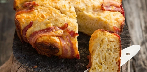 bacon and beer bread