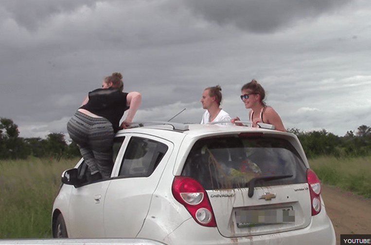 do not do it on a self drive safari
