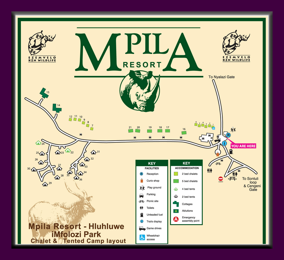 mplila camp layout