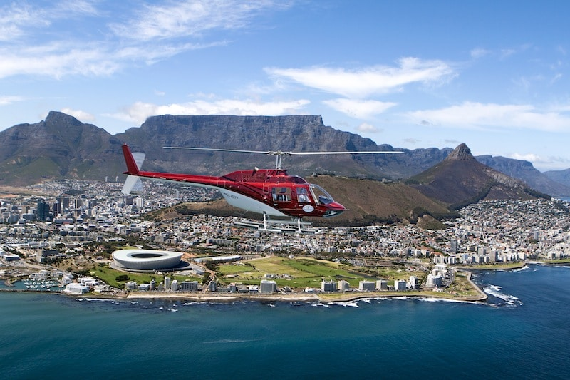 day trips and tours cape town helicopter flips