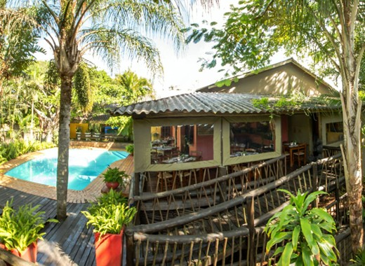lodge accommodation st lucia south africa