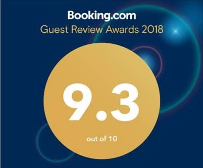 booking.com review score at heritage house