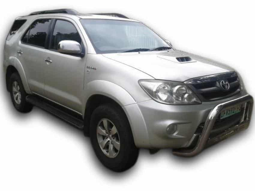 toyota fortuner transfer vehicle