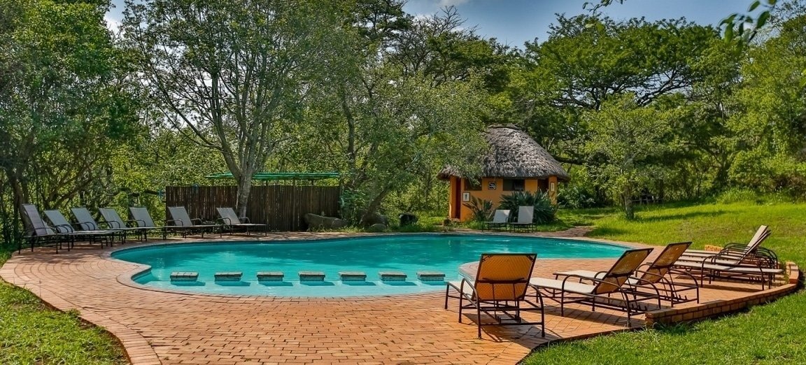 Hilltop Camp Pool Hluhluwe