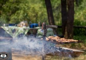 Braai in hluhluwe exclusive safari