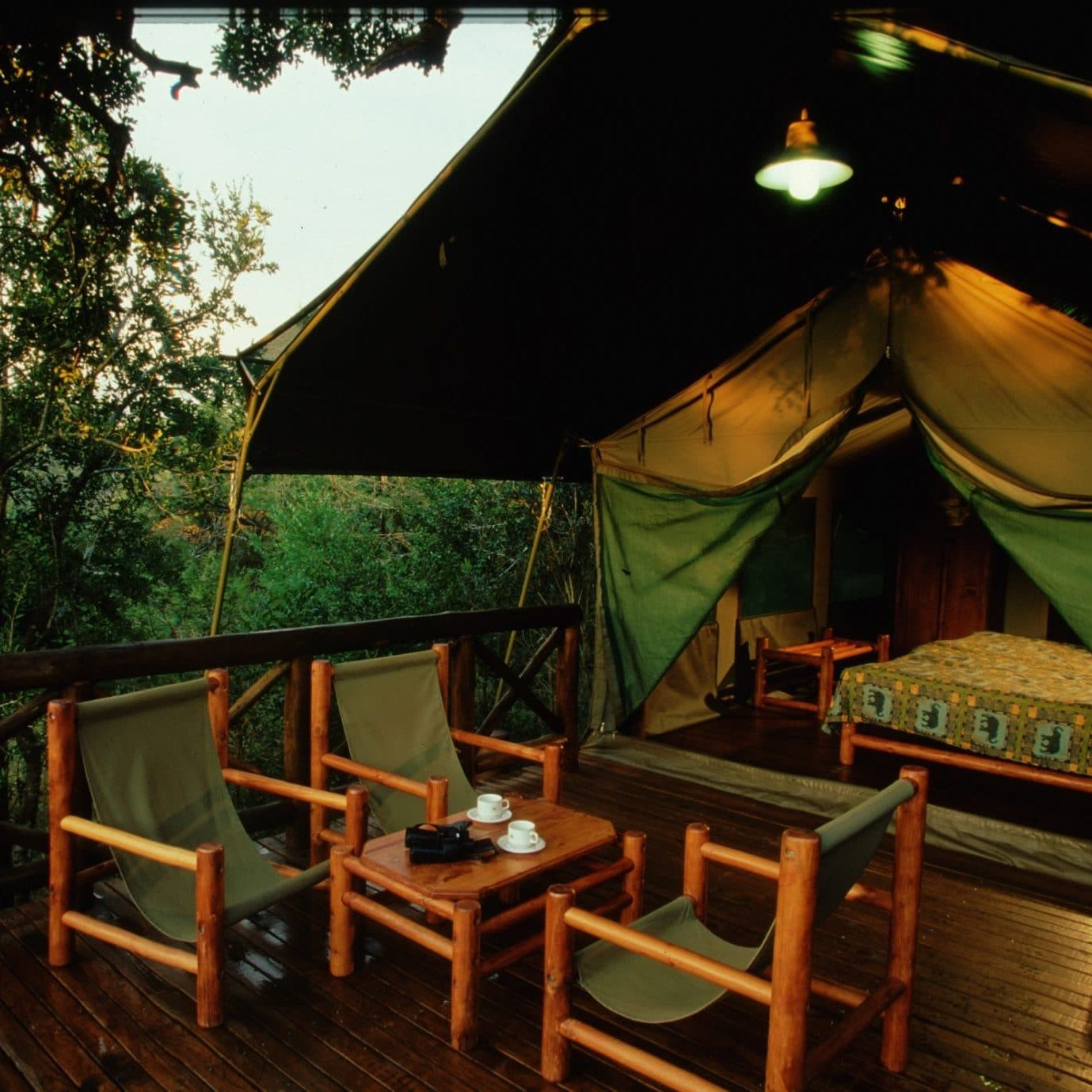 mpila safari tents